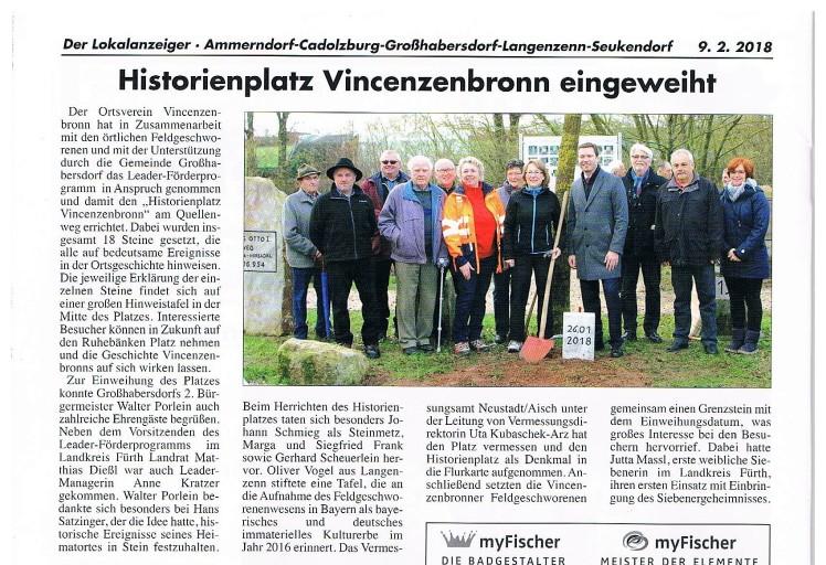 Lokalanzeiger 26.01.2018 Historienplatz Vincenzenbronn (2)