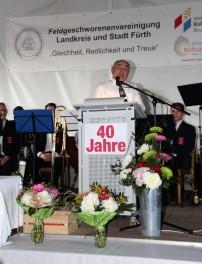 Hans Satzinger, 1. Vorsitzender der FG Landkreis und Stadt Fürth, Foto: Hans Graeber